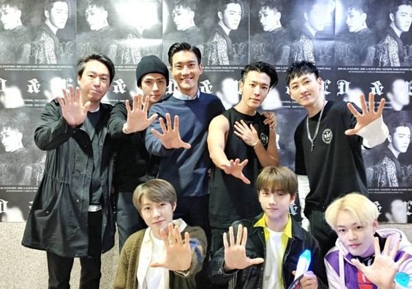 Si Won, Se Hun và các đàn em NCT cũng có mặt