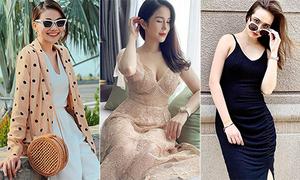 Street style mát mẻ khoe dáng chuẩn ngày hè của mỹ nhân Việt