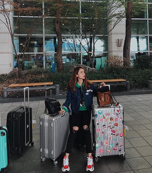 Yến Trang đi Seoul như đi chợ.