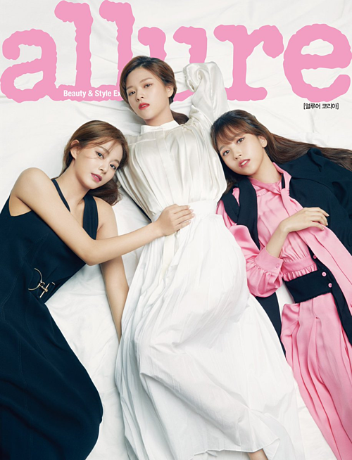 Jung Jeon, Mina và Tzuyu.