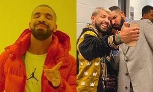 Rapper Drake - 'thánh ám' xui xẻo khiến fan bóng đá ai cũng... xua đuổi