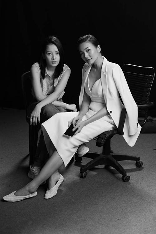 Chi Pu và Thanh Hằng kết hợp trong phim điện ảnh mới.