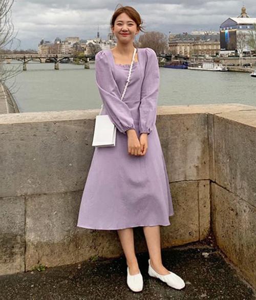 Tím lavender - gam màu tưởng không hot mà hot không tưởng hè 2019 - 3