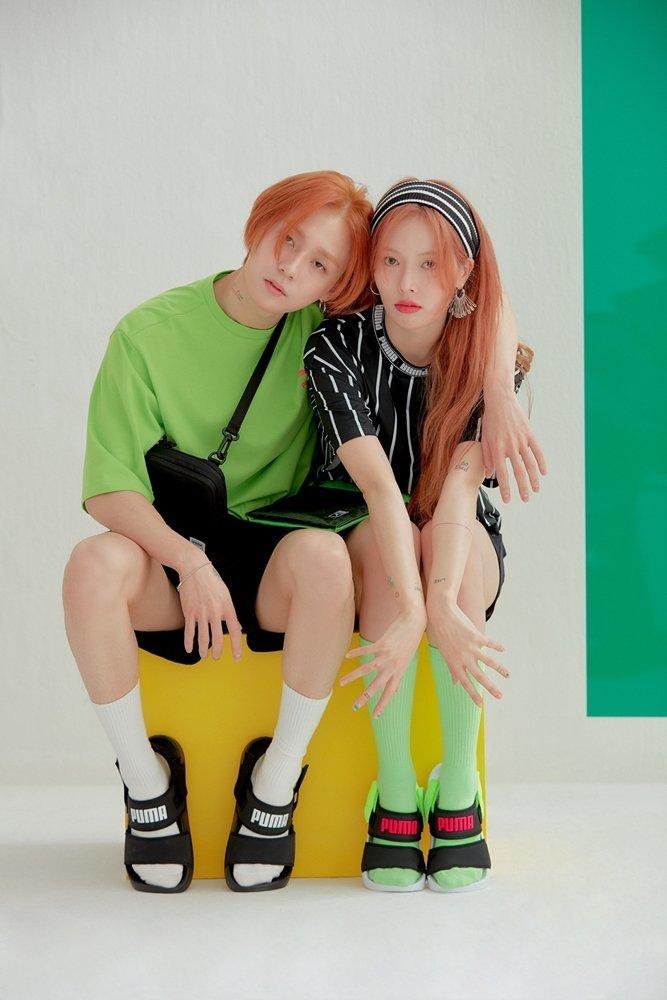 <p> Đây là lần đầu công chúng được ngắm hai thần tượng xuất hiện với hình ảnh ''bình thường'' đến thế. Visual của Hyun Ah - E'Dawn có dịp tỏa sáng rực rỡ trong bộ ảnh. Các fan yêu cầu họ cứ giữ nguyên phong cách này để debut nhóm song ca mới.</p>