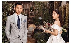 Ảnh cưới long lanh của Hùng Dũng và vợ