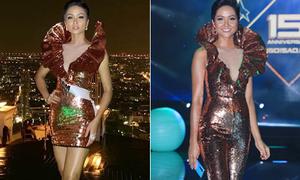 Váy thi Miss Universe được H'Hen Niê tái chế thành đồ đi tiệc
