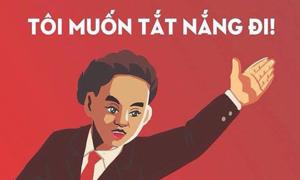 Ảnh chế 'thay lời muốn nói' cho mùa nắng ở Sài Gòn