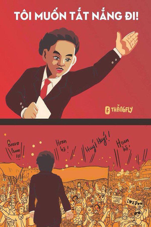 Xuân Diệu từng nói thay nỗi lòng người Sài Gòn lúc này: