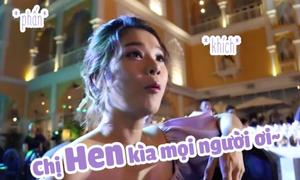 Hoàng Yến Chibi lộ 'bản chất' mê hoa hậu ra mặt