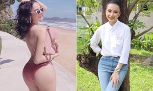 'Nữ hoàng khoe vòng ba' Angela Phương Trinh ngày càng kín đáo bất ngờ