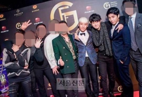 Seung Ri và nhóm bạn là khách quen của quán bar.