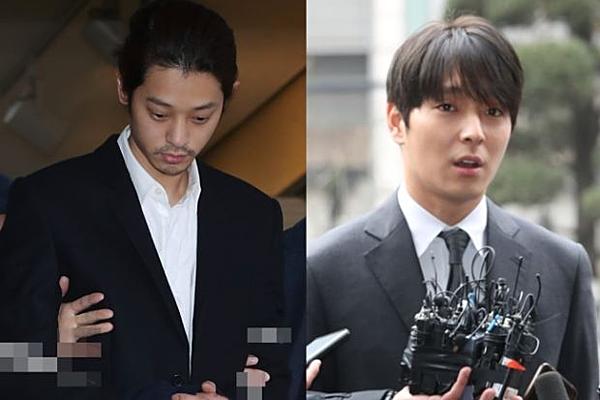 Jung Joon Young, Choi Jong Hoon đang phải đối mặt với các cáo buộc hiếp dâm.