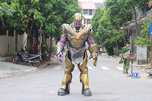 Ác nhân Thanos trong phim Avengers