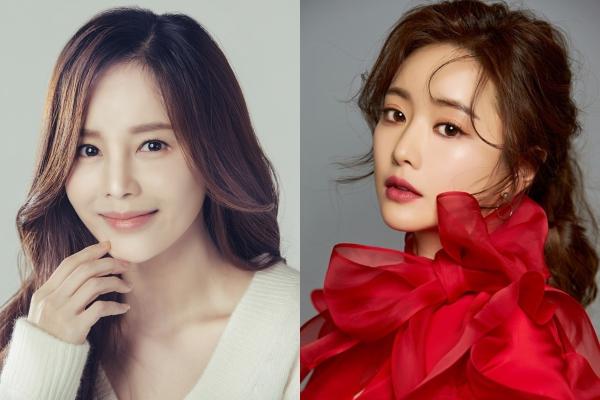 Lee Young Ah và Hong Soo Ah