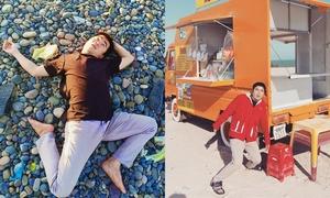 Bộ ảnh 'ngất xỉu khi du lịch giữa nắng nóng 40 độ' gây cười