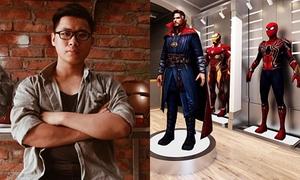 9x chế tạo trang phục siêu anh hùng kiếm trăm triệu đồng mỗi tháng