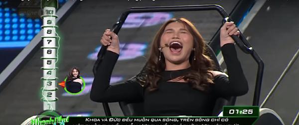 Quỳnh Châu bất ngờ khi khán giả phản ứng về phần thi của mình.