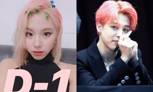 Dàn idol tóc hồng bùng nổ nhan sắc trong đợt comeback hè