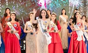Nữ sinh ĐH Mở đăng quang Hoa hậu Thế giới người Việt tại Pháp