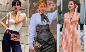 Street style đón hè của mỹ nhân Việt: Người nữ tính, kẻ cool ngầu