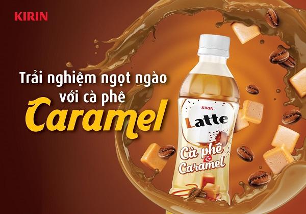 Bằng việc kết hợp khéo léo Robusta và Caramel, KIRIN Latte Cà phê & Caramel chinh phục nhiều đối tượng người dùng nhờ hương vị khác biệt.