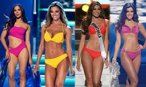 Miss Universe 10 năm qua: Hoa hậu nào trình diễn bikini đẹp hơn?