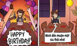 Tưởng tượng và thực tế khi tổ chức tiệc sinh nhật