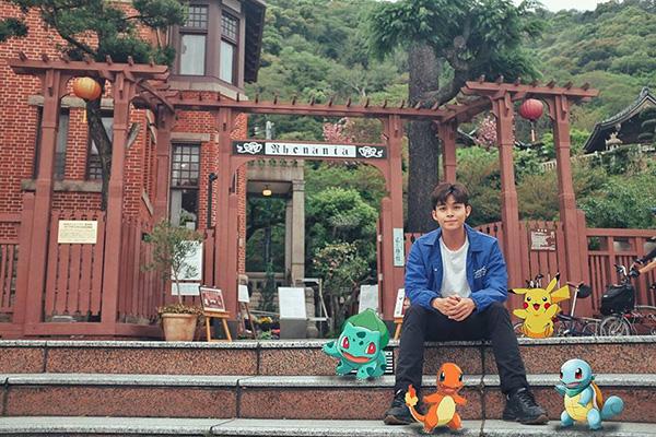 Jun Phạm khiến fan thích thú với bức ảnh theo phong cách hoạt hình ở Nhật Bản.