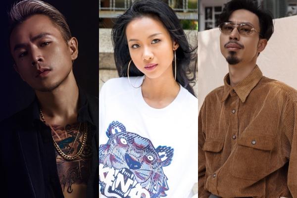 3 trong số các nghệ sĩ Việt Nam tham gia đêm nhạc.