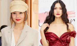 Hoa hậu Thùy Dung - Thanh Hằng đẹp 'bất phân thắng bại' ở sự kiện