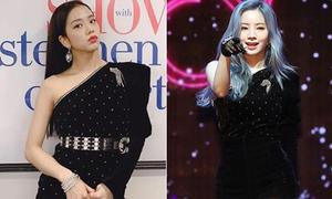 Stylist cao tay giúp Ji Soo 'ăn đứt' Da Hyun khi đụng hàng
