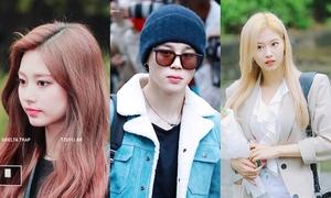 BTS, Twice, TXT... cùng đọ dáng trên đường tới Music Bank