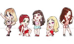 Fan cứng đoán nhóm nhạc Kpop qua hình chibi (3)