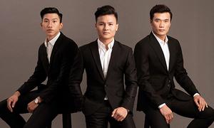 Tiến Dũng, Quang Hải, Văn Hậu bảnh bao khi chụp ảnh thời trang