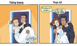 Tưởng tượng và thực tế về cuộc sống hôn nhân