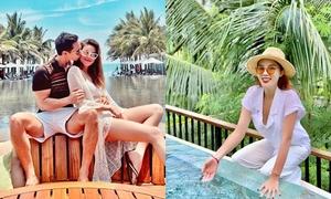 Dàn sao Việt đi du lịch dịp nghỉ lễ