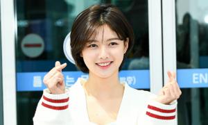 'Nữ thần thanh xuân' Kim Yoo Jung tỏa sáng với mái tóc ngắn