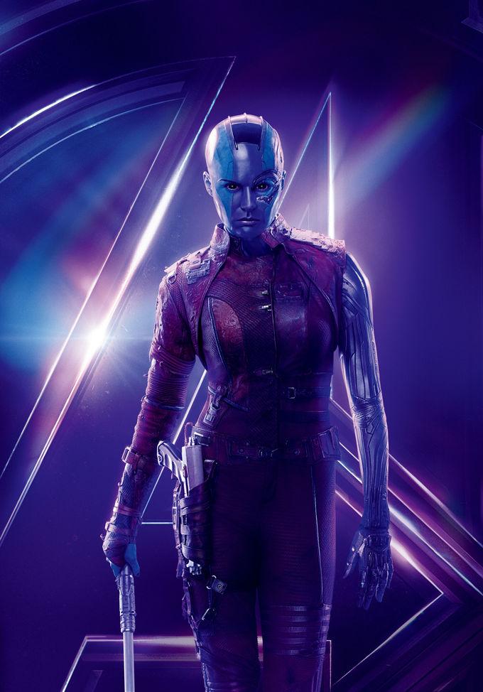 <p> Nebula là một nhân vật nữ phụ trong Vũ trụ điện ảnh Marvel. Cô bắt đầu xuất hiện khá mờ nhạt trong phần 1 <em>Guardians of the Galaxy</em>. Nebula là một trong 2 cô con gái nuôi của Thanos, tính tình tàn bạo và nhiều lần muốn giết chị gái Gamora. Tuy nhiên sang phần 2<em> Guardians of the Galaxy</em>, Nebula đã đổi tính, trở về con đường lương thiện. Đến <em>Avengers: Endgame</em>, Nebula trở thành một thành viên quan trọng giúp đỡ biệt đội siêu anh hùng.</p>