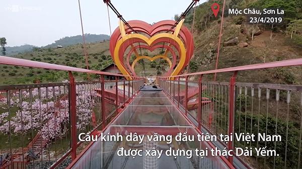 Chiếc cầu kính 5D đầu tiên của Việt Nam.