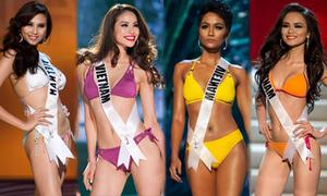 Đại diện Việt Nam nào tại Miss Universe trình diễn bikini đẹp nhất?