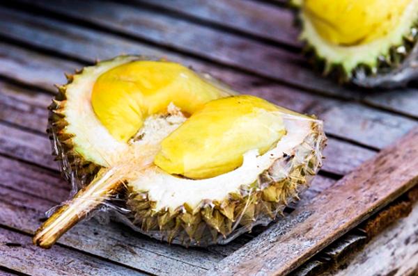 Sầu riêng được mệnh danh là Vua trái cây Đông Nam Á.
