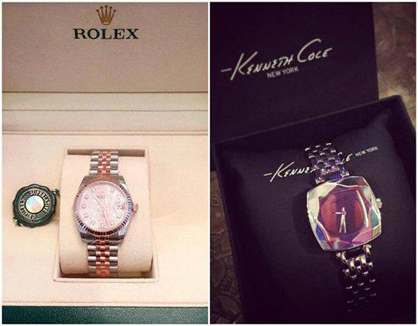 Thành tích mỗi lần mua sắm của Bảo Thy rất đáng nể. Cô cũng từng khoe mua một lúc hai chiếc đồng hồ trị giá hơn 2 tỷ đồng.