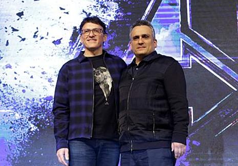 Cặp đạo diễn Anthony Russo (trái) và Joe Russo