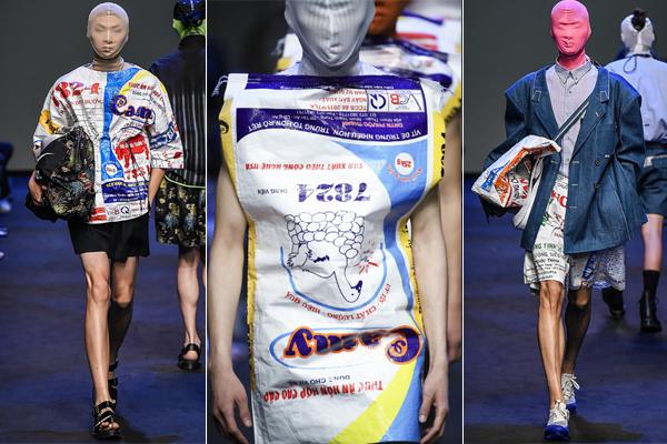 BST này còn có rất nhiều item khác như áo tshirt, túi xách, quần short, khăn quàng cổ... cũng được lấy cảm hứng từ bao bì cám con cò.