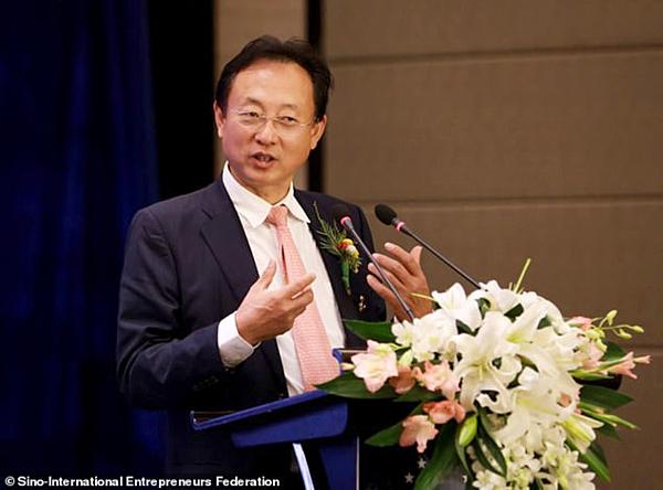 Ông Zhao Tao, cha của nữ sinh Zhao trong vụ chạy trường tại Mỹ.