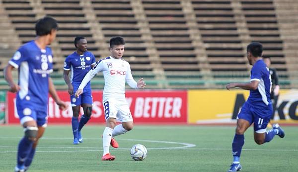 Quang Hải giúp Hà Nội FC thắng đậm tại AFC Cup 2019.