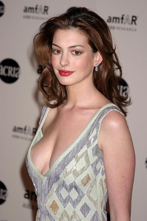 Anne Hathaway sinh năm 1982, khởi nghiệp diễn xuất từ năm 19 tuổi với vai cô công chúa xinh đẹp trong Nhật ký công chúa. Ngay từ vai diễn đầu tiên, nữ diễn viên đã gây choáng ngợp với dung mạo thiên phú, được bình chọn là một trong những minh tinh xinh đẹp nhất Hollywood thập niên 2000. Sự nghiệp của Anne Hathaway lên như diều gặp gió cũng nhờ nhan sắc đỉnh cao cùng phong cách thời trang chuẩn mực. Có thời điểm, cô được xem như biểu tượng tình dục Mỹ.