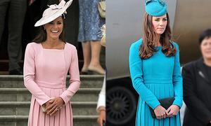 Thói quen mua sắm 'một kiểu nhiều màu' của Công nương Kate