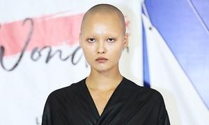 Người mẫu đầu trọc gây chú ý khi casting show thời trang