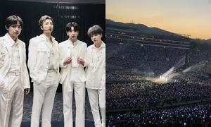 Bằng chứng đánh tan tin đồn concert BTS tại Mỹ 'ế vé'